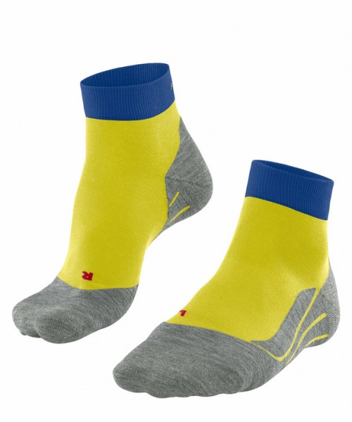 Falke RU4 SHORT Herren Running Socken, Sulphur