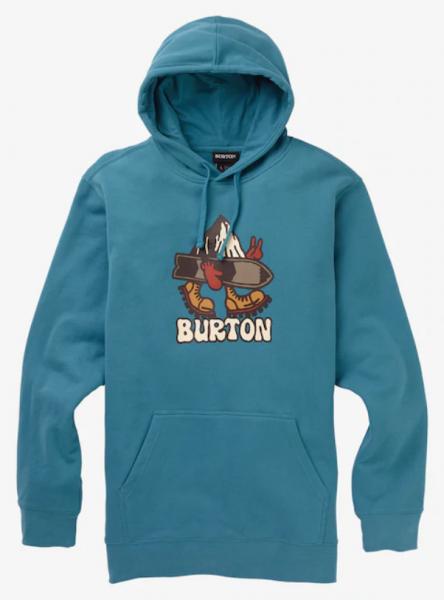 Burton LORID Herren Pullover, Storm Blue