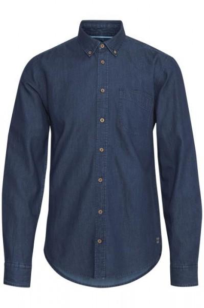 Blend SHIRT SLIM FIT Herren Hemd, Middle Blue