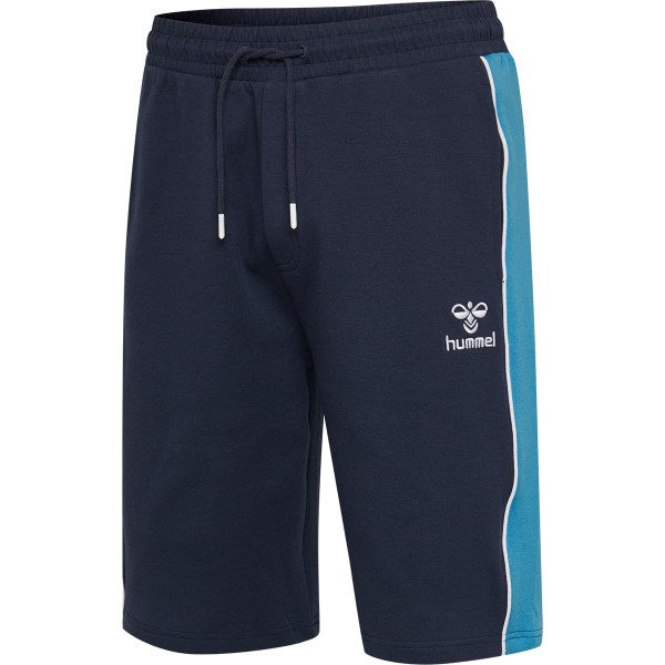 hummel HMLLAYTON Herren Shorts, Black Iris