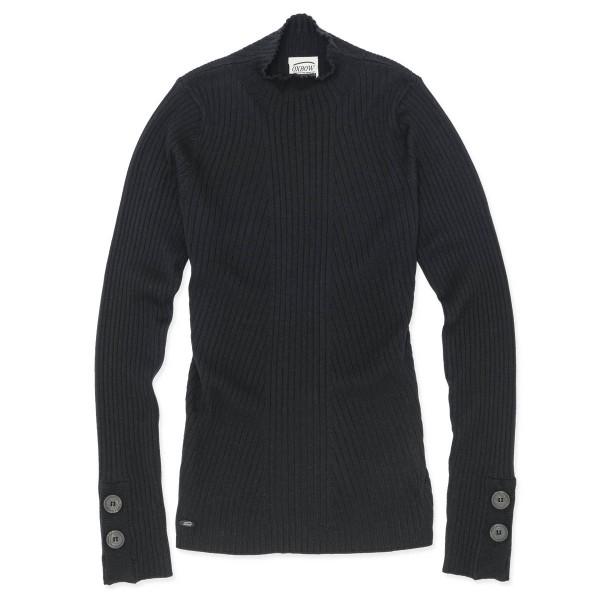 Oxbow PIROGUE Damen Pullover, Schwarz