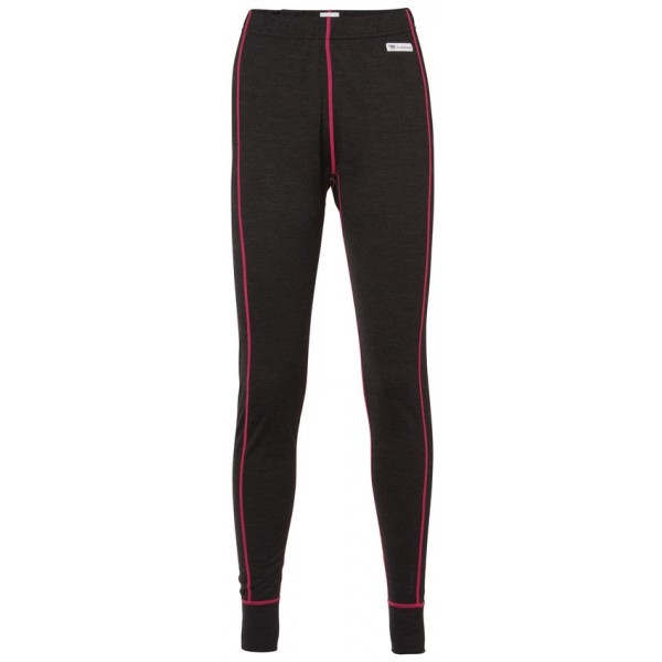 North Bend EXOWOOL BASELAYER PANTS Damen Unterhose, Black