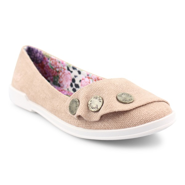 Blowfish TUCIA Damen Ballerinas, Desert Rose Rancher Canvas
