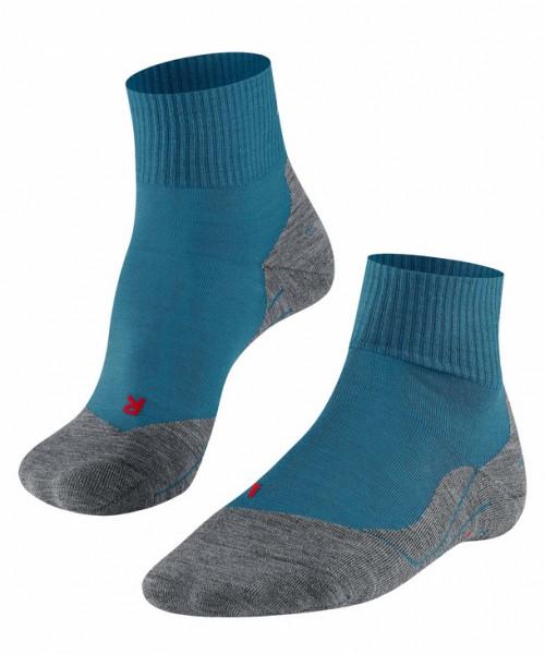 Falke TK5 SHORT Herren Trekking Socken, Galaxy Blue