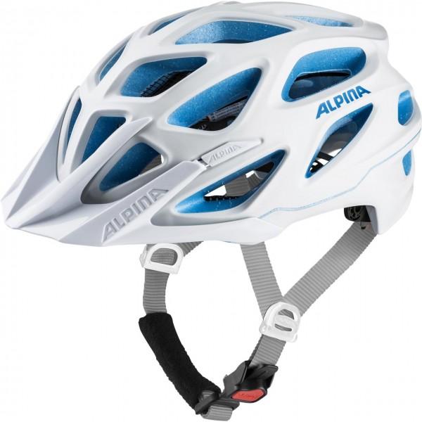 Alpina MYTHOS 3.0 LE Unisex Fahrradhelm, White Blue