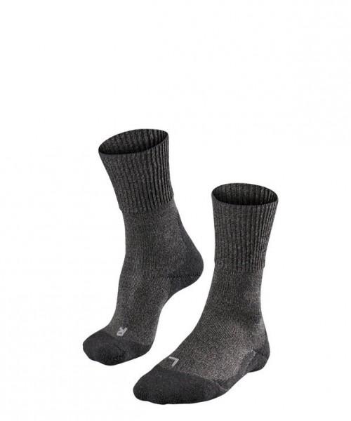Falke TK1 WOOL Herren Trekking Socken, Smog