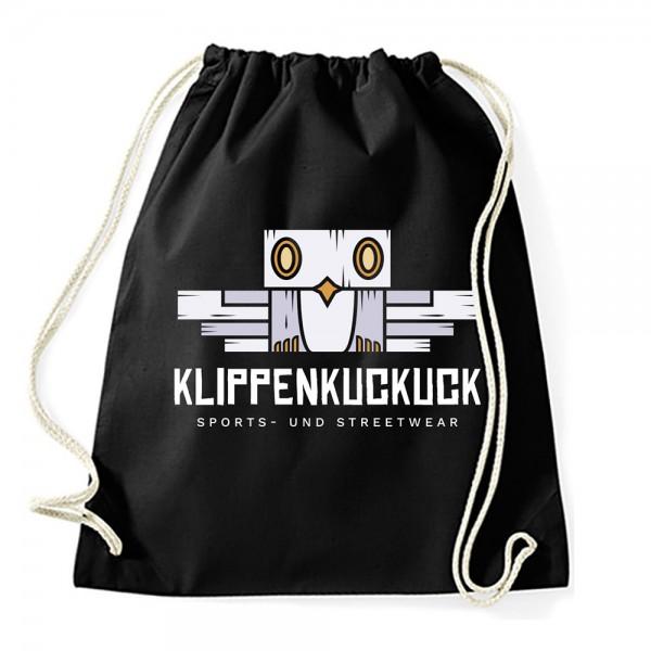 Klippenkuckuck Turnbeutel/Gym-Sack, Schwarz