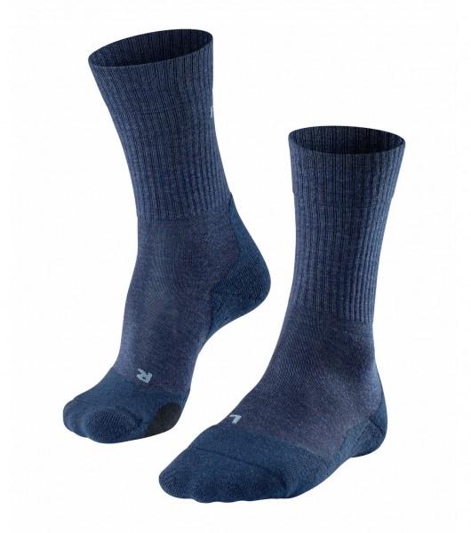 Falke TK2 WOOL Herren Trekking Socken, Jeans
