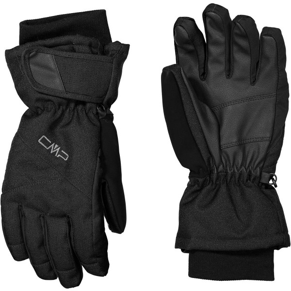 6524821 U901 CMP MAN SKI GLOVES Herren Ski Handschuhe, Nero