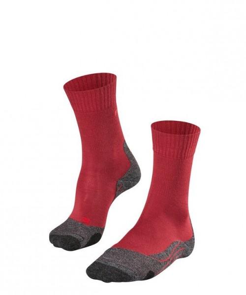 Falke TK2 Damen Trekking Socken, Ruby