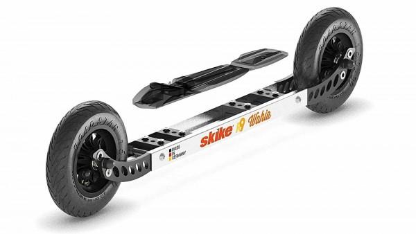 skike R9 WAHIA 150 Cross Roller für alle gängigen Skibindungen, Silber/Schwarz