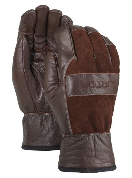 Burton LIFTY Herren Leder-Handschuh, Brown Cow
