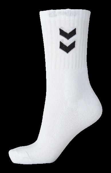 hummel BASIC SOCKS 3-PACK Herren Socken, Weiß