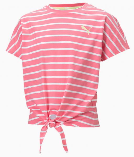Puma ALPHA Mädchen T-Shirt, Bubblegum