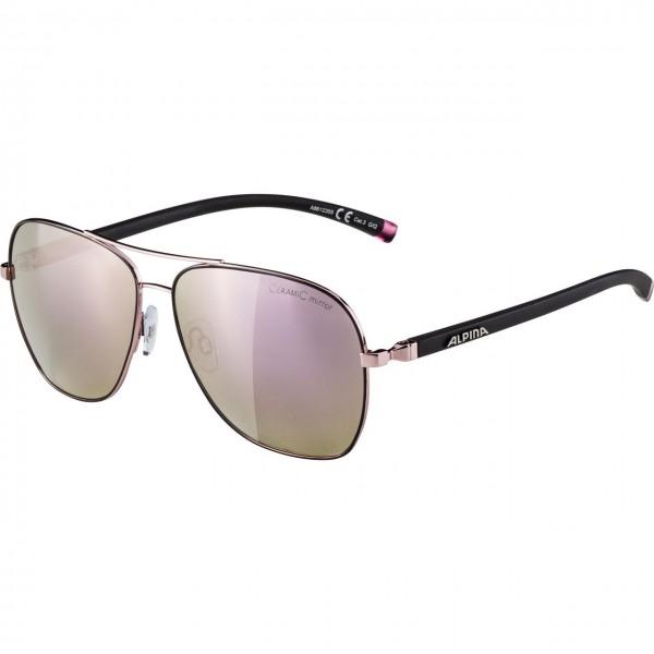 Alpina LIMIO CMRG Unisex Sportbrille, Rose Black