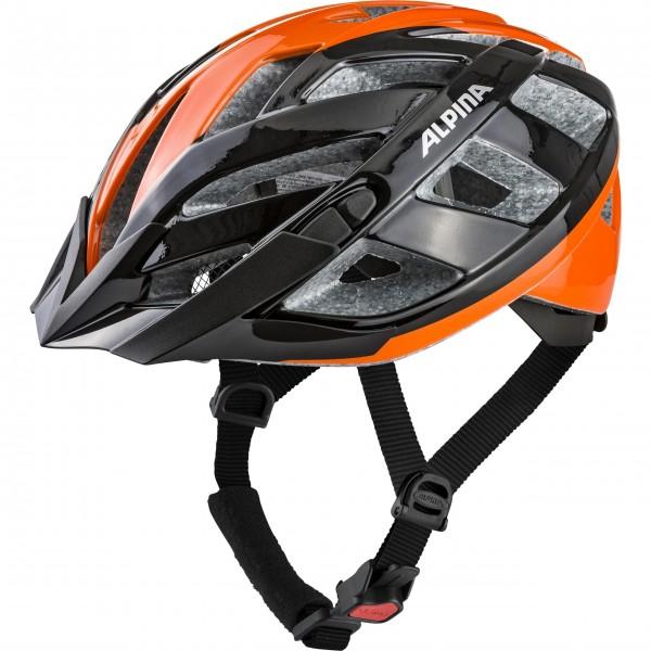 Alpina PANOMA 2.0 Unisex Fahrradhelm, Black Orange