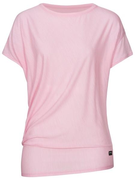 SNW013470K38 super.natural W YOGA LOOSE TEE Damen T-Shirt, Fairytale Melange