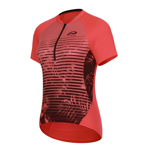 124002-540 Protective P-SUNDAY MORNING Damen Bike/Fahrrad Baggy-Short, Fiery Coral