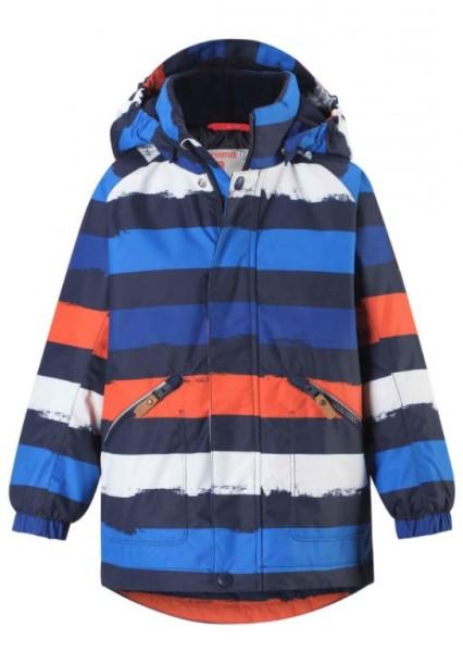 521613 2775 reima NAPPAA Kinder Winterjacke, Navy/Orange/Blue
