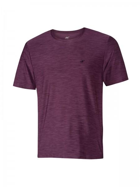JOY sportswear VITUS Herren T-Shirt, Aubergine Melange