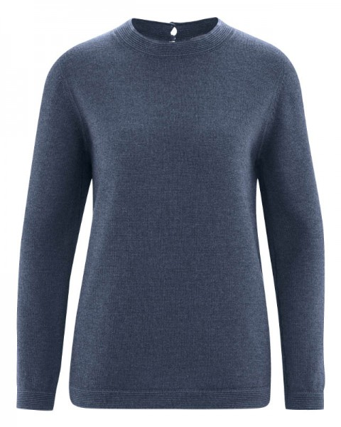 HempAge WOLLPULLOVER Damen Natural Link, Wintersky