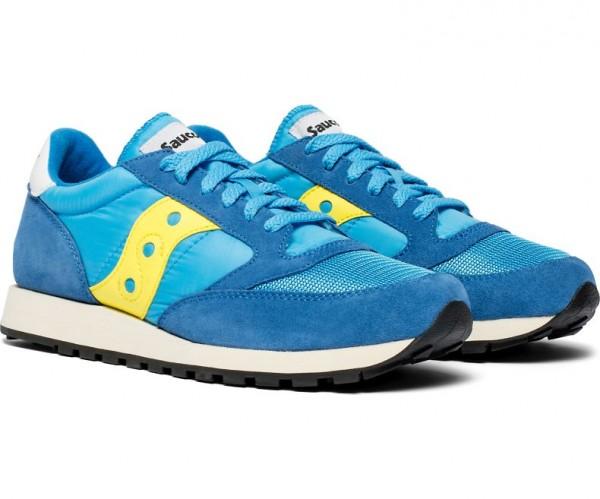 Saucony JAZZ ORIGINAL VINTAGE Herren Lifestyle/Retro-Sneaker, Blue/Yellow