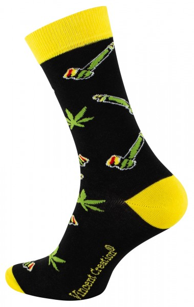 2163 Vincent Creation® WEED Unisex Casual Socke, Pipe