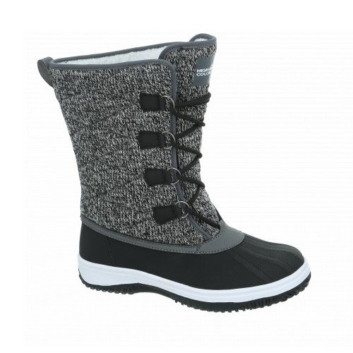 High Colorado ALESSIA LADY Damen Winterstiefel, Black/Grey Melange