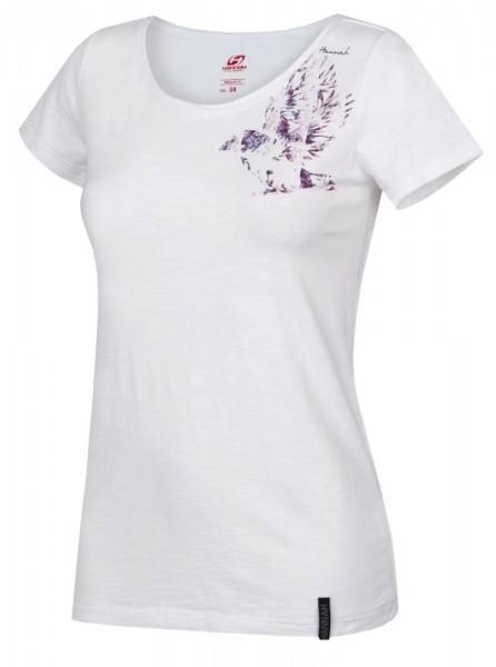 Hannah KARMELA S/S Damen T-Shirt, Bright White