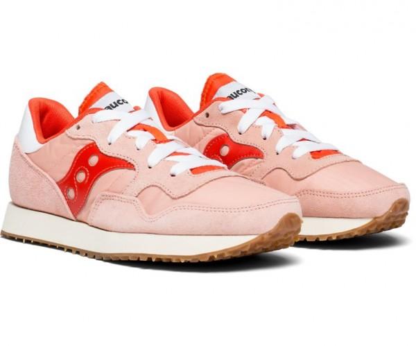 Saucony DXN TRAINER VINTAGE Damen Lifestyle/Fashion-Sneaker, Pink/Berry
