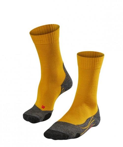 Falke TK2 Herren Trekking Socken, Mustard