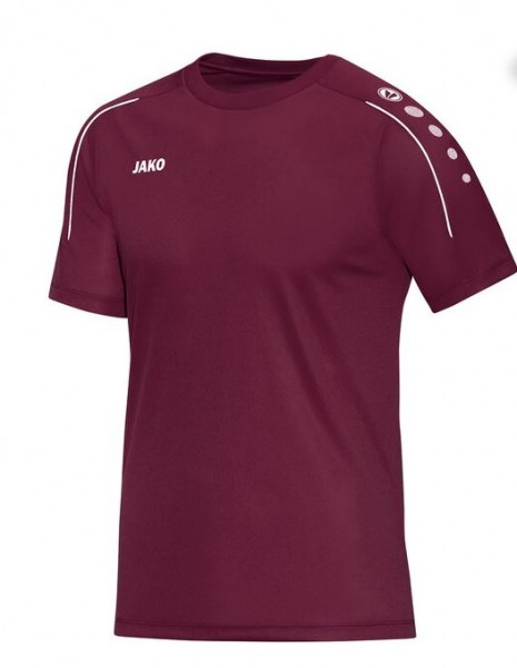 JAKO CLASSICO Herren T-Shirt, Maroon