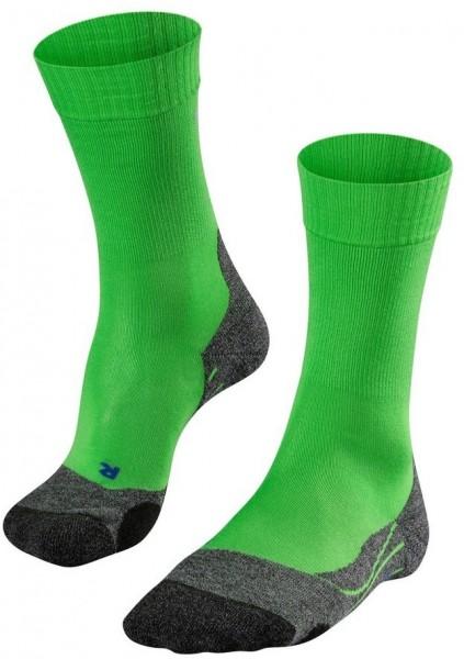 Falke TK2 COOL Herren Trekking Socken, Vivid Green