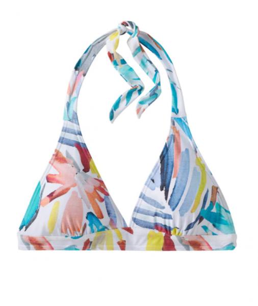 PrAna LAHARI Damen Bikini Top, White La Flora