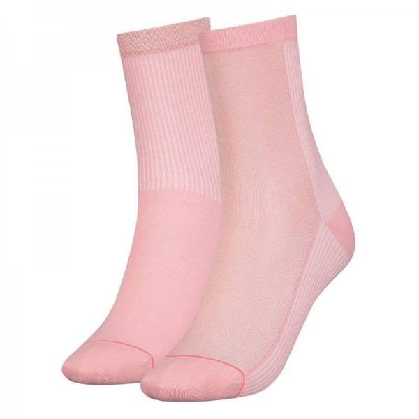 293003001246/246 Puma SOCK RADIENT Damen Socken (2er Pack), Rose Water