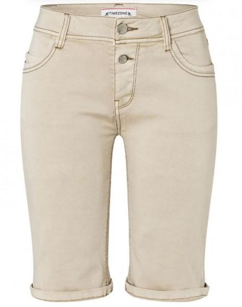 TIMEZONE NALI Damen Slim Shorts, Classic Beige