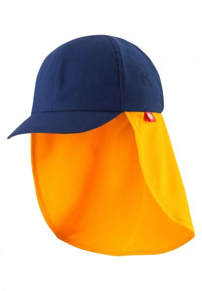 Reima TROPISK Kinder Sonnenschutz Hut, Navy Blue