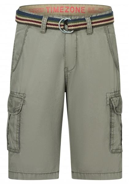 TIMEZONE LOOSE MAGUIRE TZ Herren Cargo Shorts, Military Grey