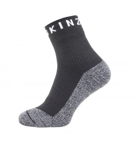 Sealskinz SOFT TOUCH ANKLE LENGTH Unisex Outdoor/Sport Socken, Black/Grey/White
