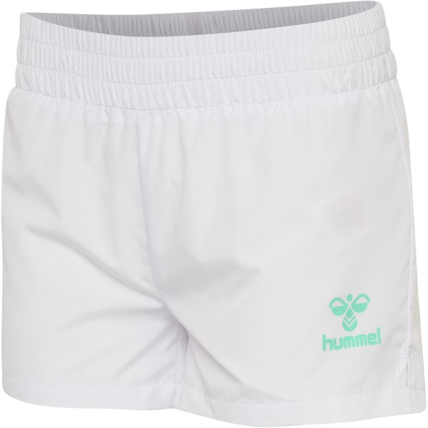 hummel HMLTROPHY SHORTS Damen Wasserabweisende Shorts, White