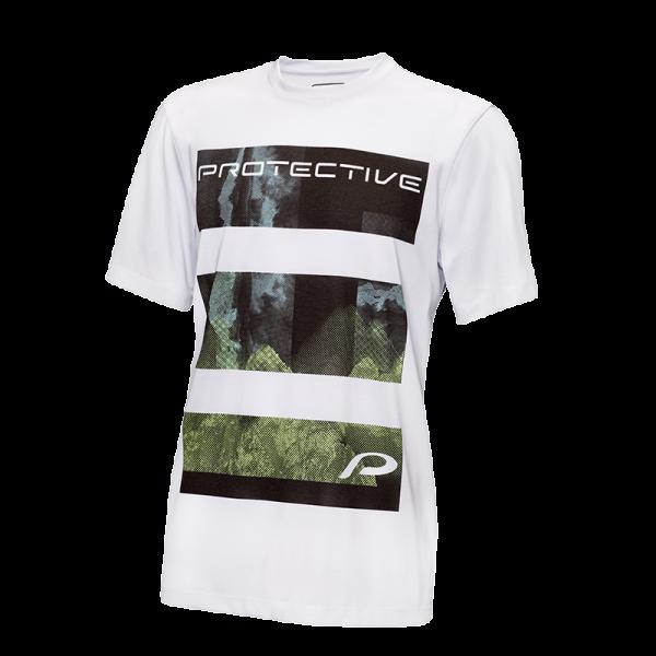 Protective TECTRON T II Herren Kurzarm Funktionsshirt, Grey Melange