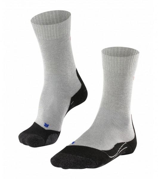 Falke TK2 COOL Damen Trekking Socken, Light Grey