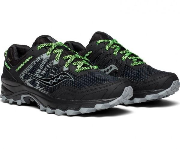 Saucony EXCURSION TR12 GTX Herren Trail-Running Laufschuh, Black