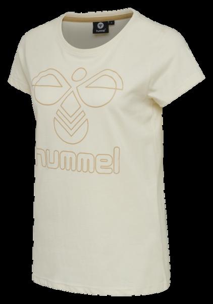 hummel HMLSENGA Damen T-Shirt, Bone White