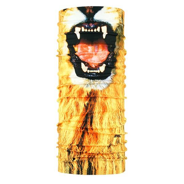 P.A.C. FACEMASK LION Unisex Multifunktionstuch, Lion
