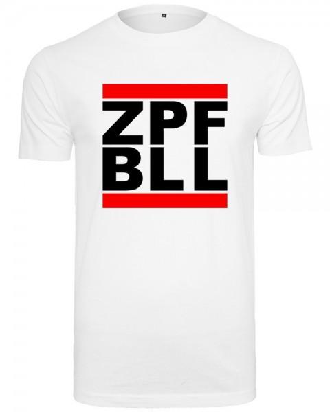 zopfball ZPFBLL STREETSHIRT MEN`S CUT Herren T-Shirt, White
