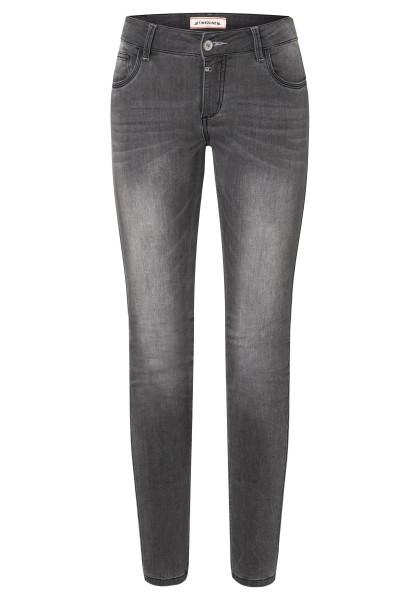 TIMEZONE TIGHT ALEENA Damen Superstretch-Jeans (30er Länge), Wool Grey Wash