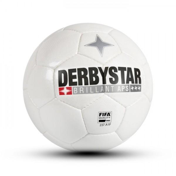 Derbystar BRILLANT APS CLASSIC Fussball, Weiss
