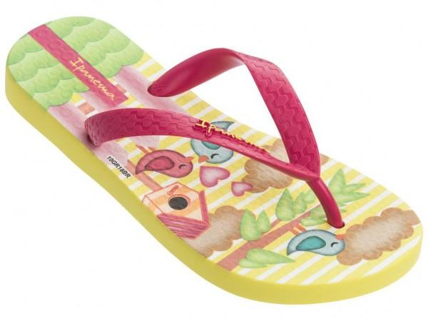 Ipanema CLASSIC VII KIDS Kinder Zehentrenner, Yellow/Pink
