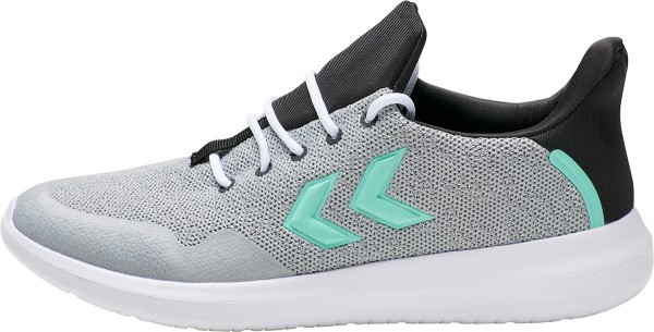 hummel ACTUS TRAINER Unisex Sneaker, Grey Melange